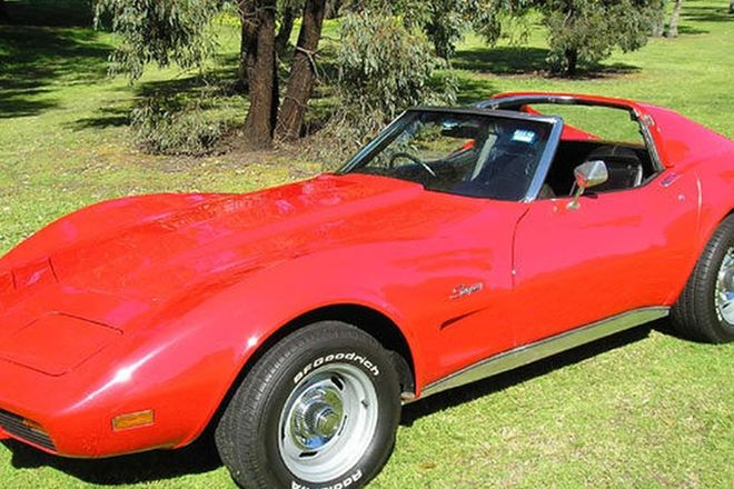Chevrolet Corvette Coupe (RHD)