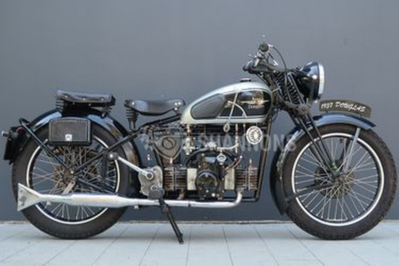 Douglas Aero 600cc Twin Solo Motorcycle