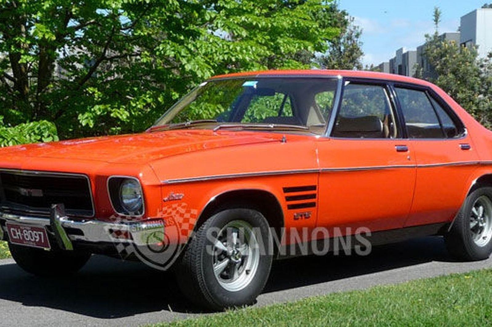 Sold Holden Hq Monaro Gts 5 0 Sedan Auctions Lot 40