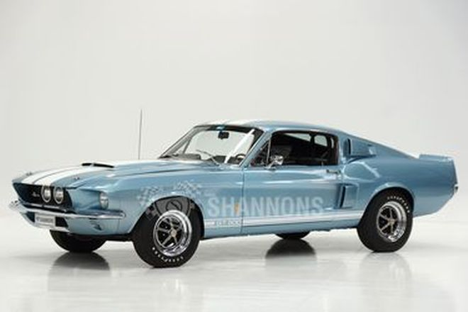 Shelby Mustang GT500 Fastback (LHD)