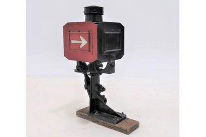 Lamp - Railway Signal Box on Stand (82cm tall)