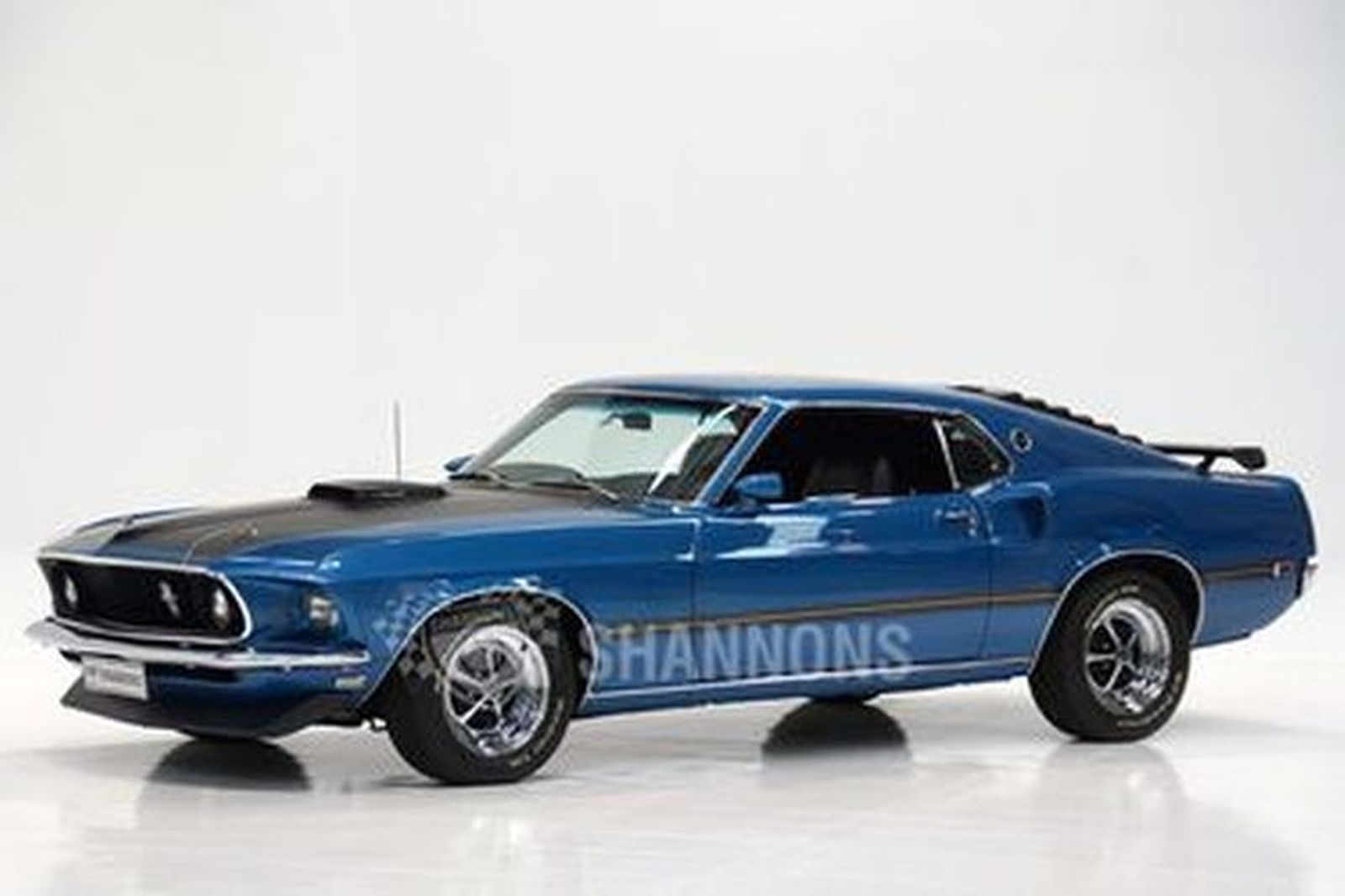 Ford mustang 428 scj fastback lhd