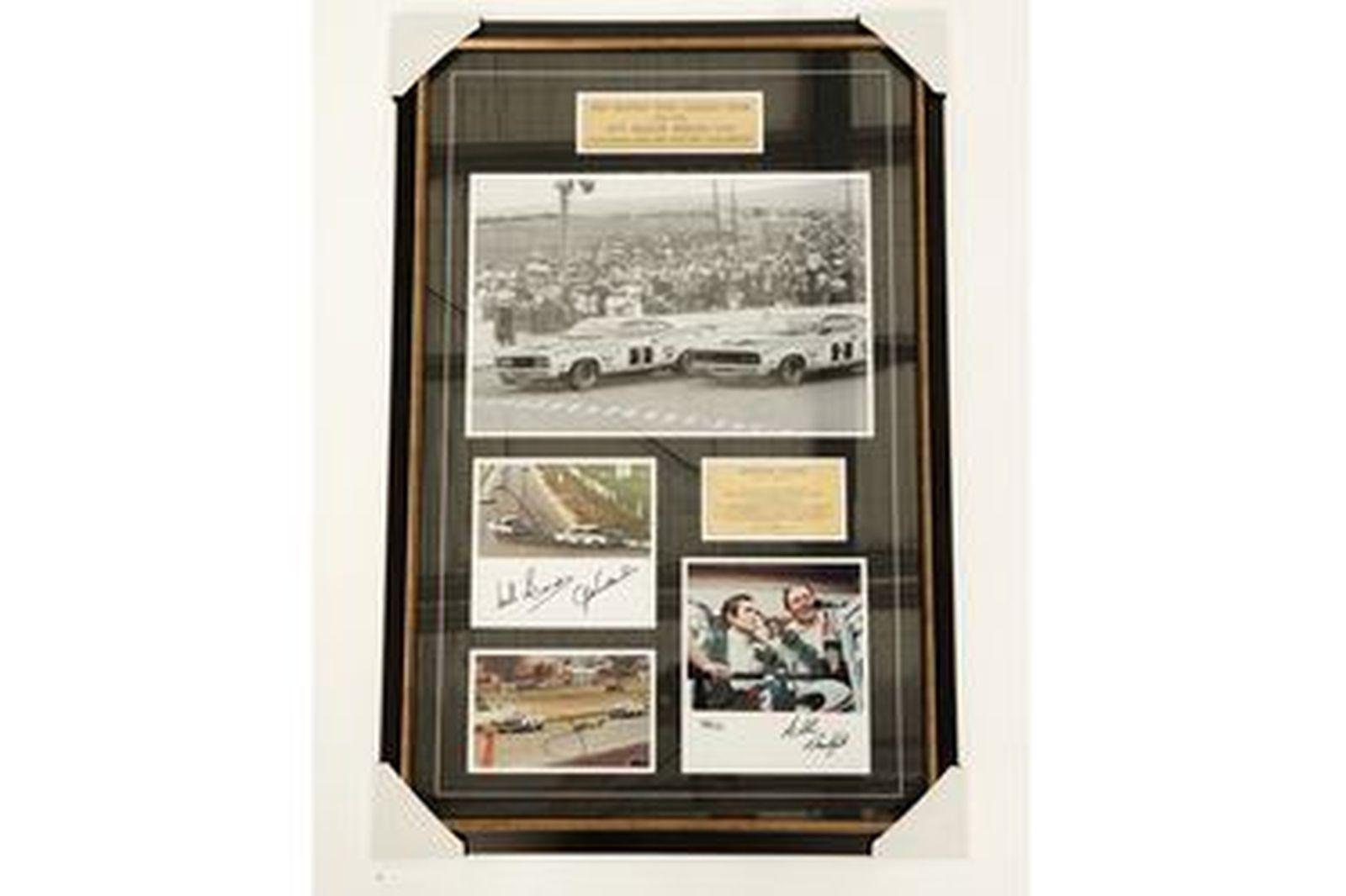 Commemorative Photo Set - Moffat Ford Dealer Team, 1977 Bathurst 1-2 (Autographed By All 4 Drivers)