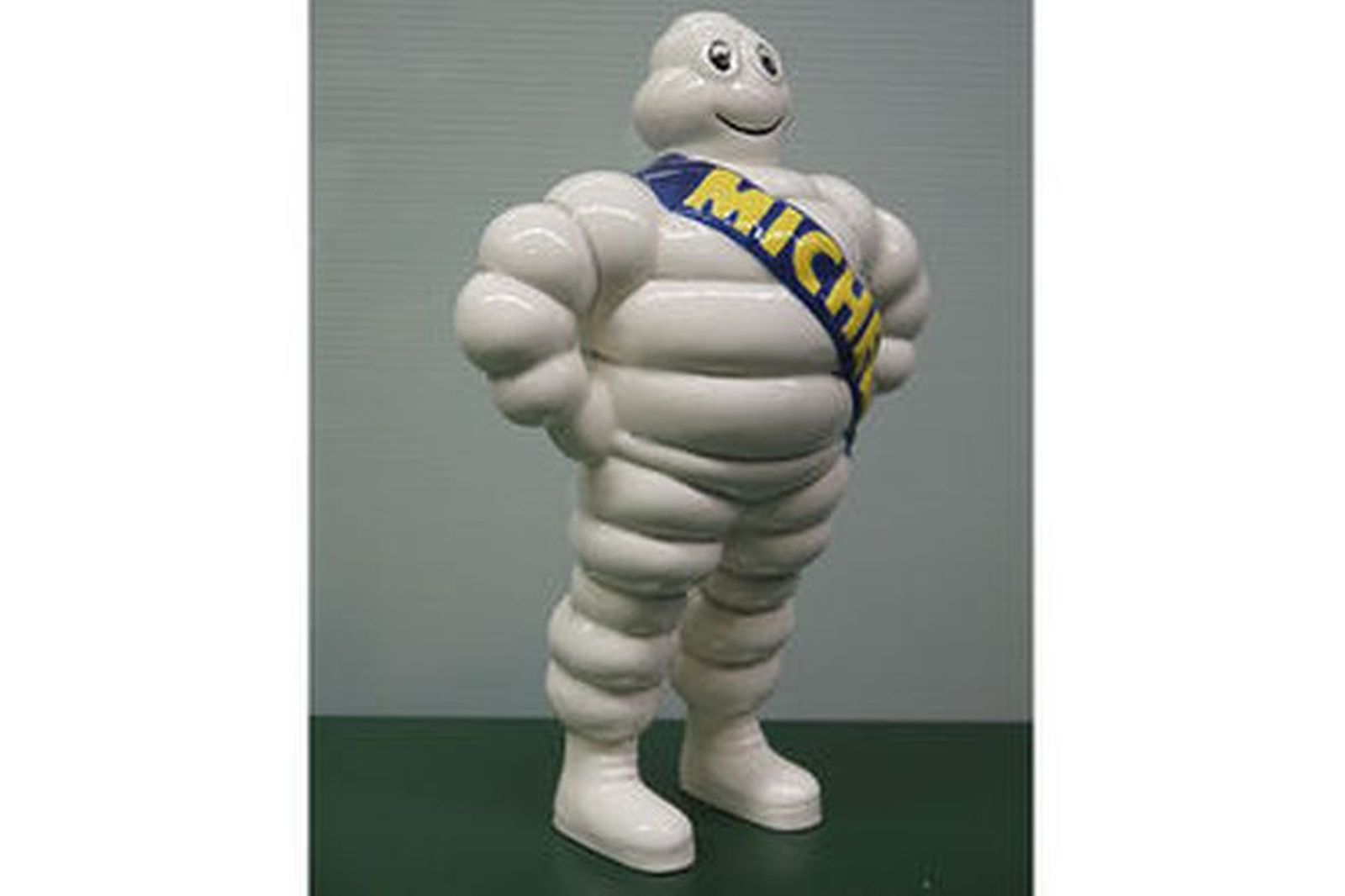 Statue - Michelin Man in porcelain (30cm Tall)