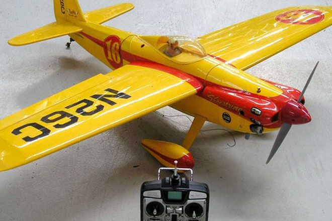 Model Plane - Shoe String Aerobatic Scale Model with engine (1.5m wing span)