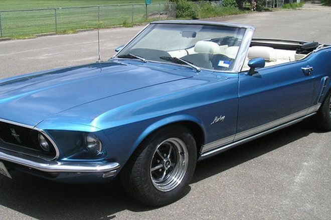 Ford Mustang Grande Convertible (LHD)