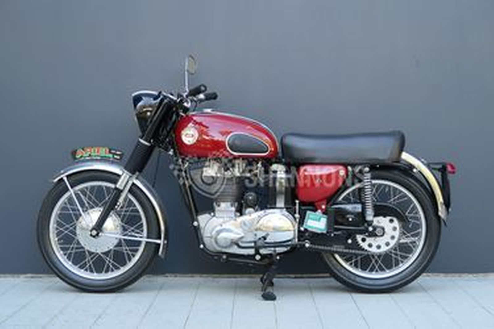 Ariel VH Red Hunter 500cc Motorcycle