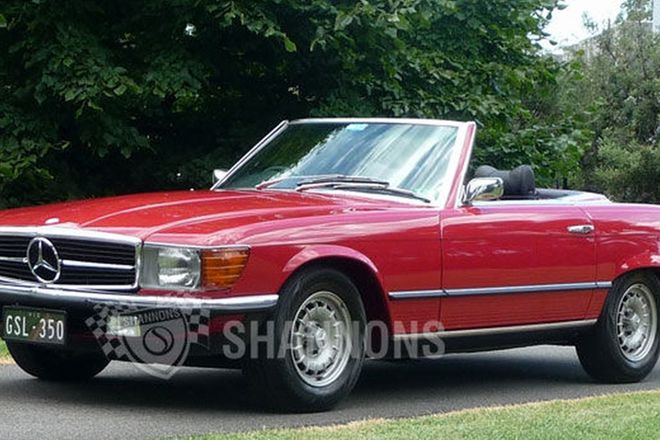 Mercedes-Benz 350SL 'Manual' Convertible