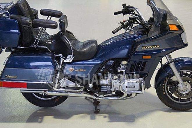 Honda GL1200 Goldwing Aspencade Motorcycle