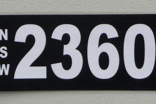 NSW Numerical Number Plates - '2360'
