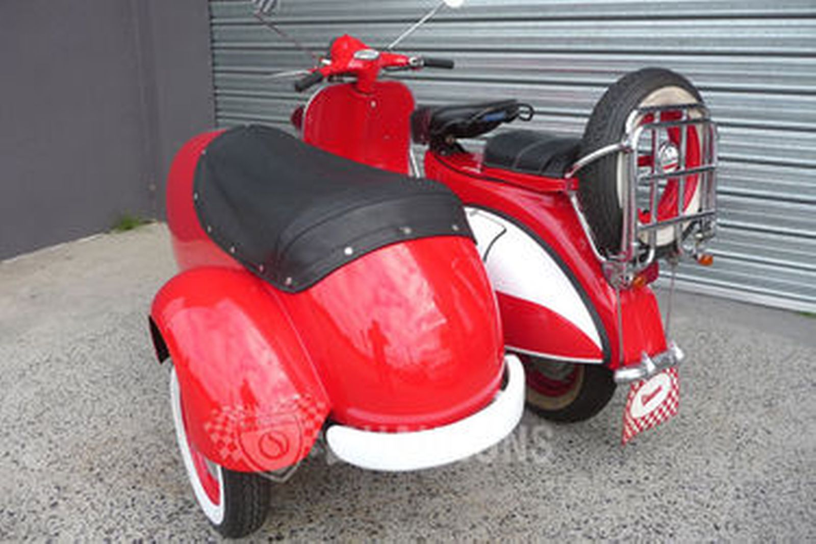Online Car Auction >> Sold: Vespa 150cc Scooter with Sidecar Auctions - Lot 31 - Shannons