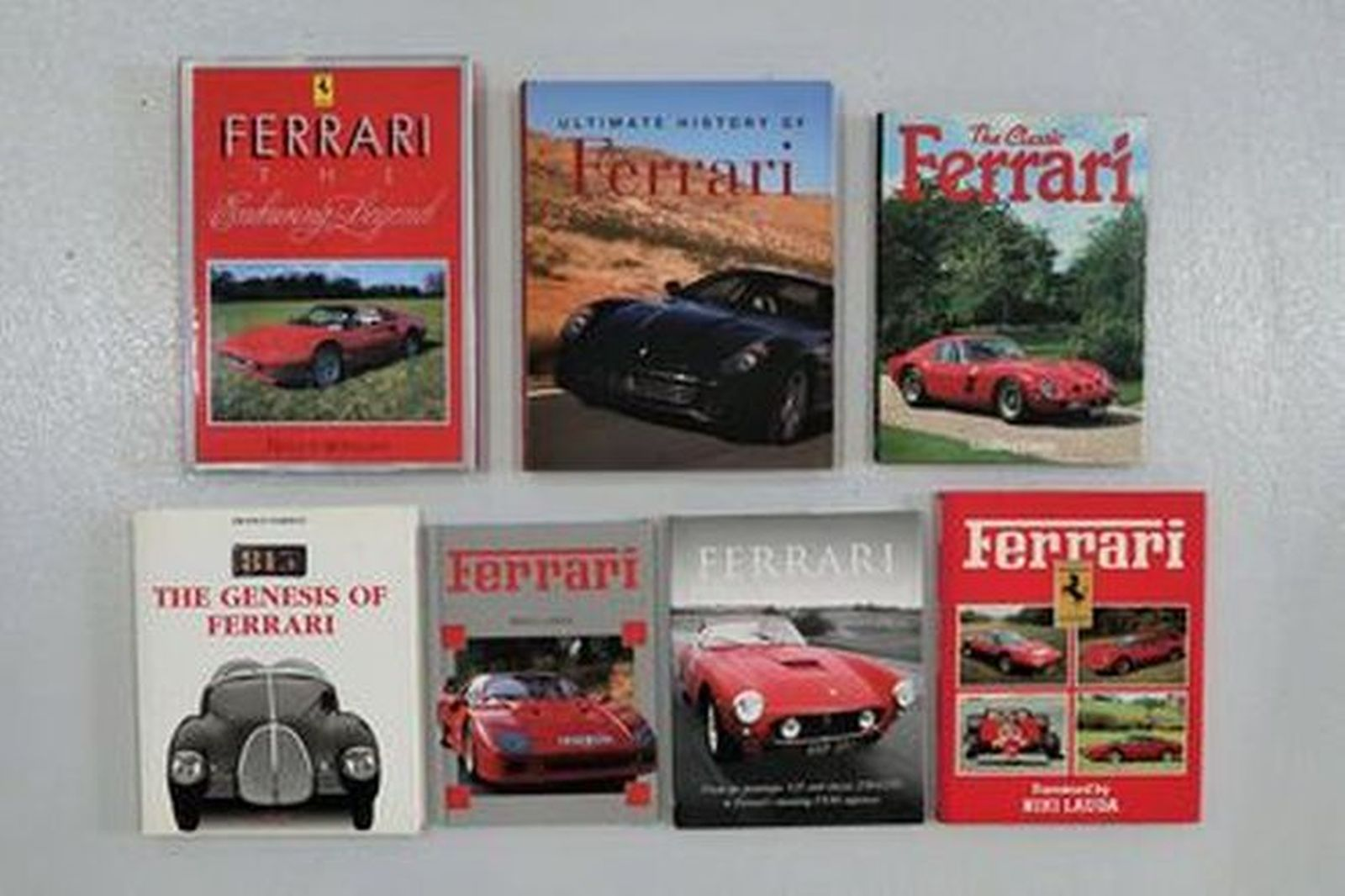 Books - 6 x Assorted Ferrari titles