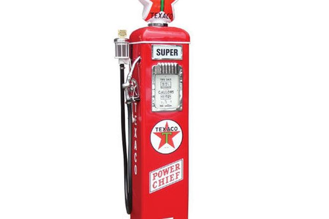 Petrol Pump - Gilbarco Electric Short Series in Texaco Livery (Restored)