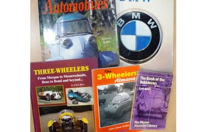 Collection of 5 Books on Micro Cars