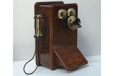 Vintage Phone - c1920's PMG British Ericsson 135mw Wall Phone