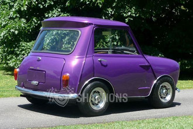 Morris-Mini Modified 'Shorty' Coupe
