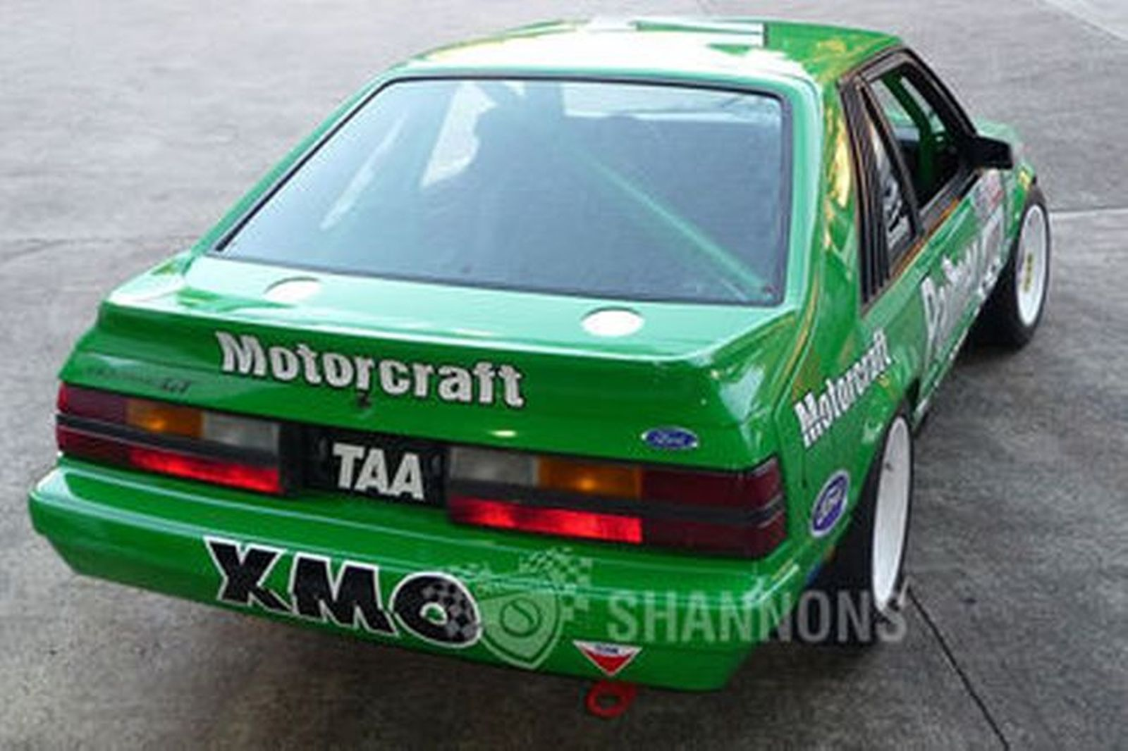 Ford Mustang Gt Quot Greens Tuf Quot Ex Dick Johnson Race Car