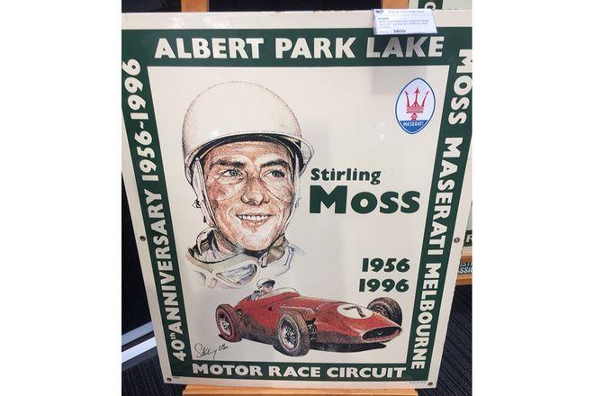 40th Anniversary Albert Park Enamel Sign  No 98 / 100 by garage art enamel