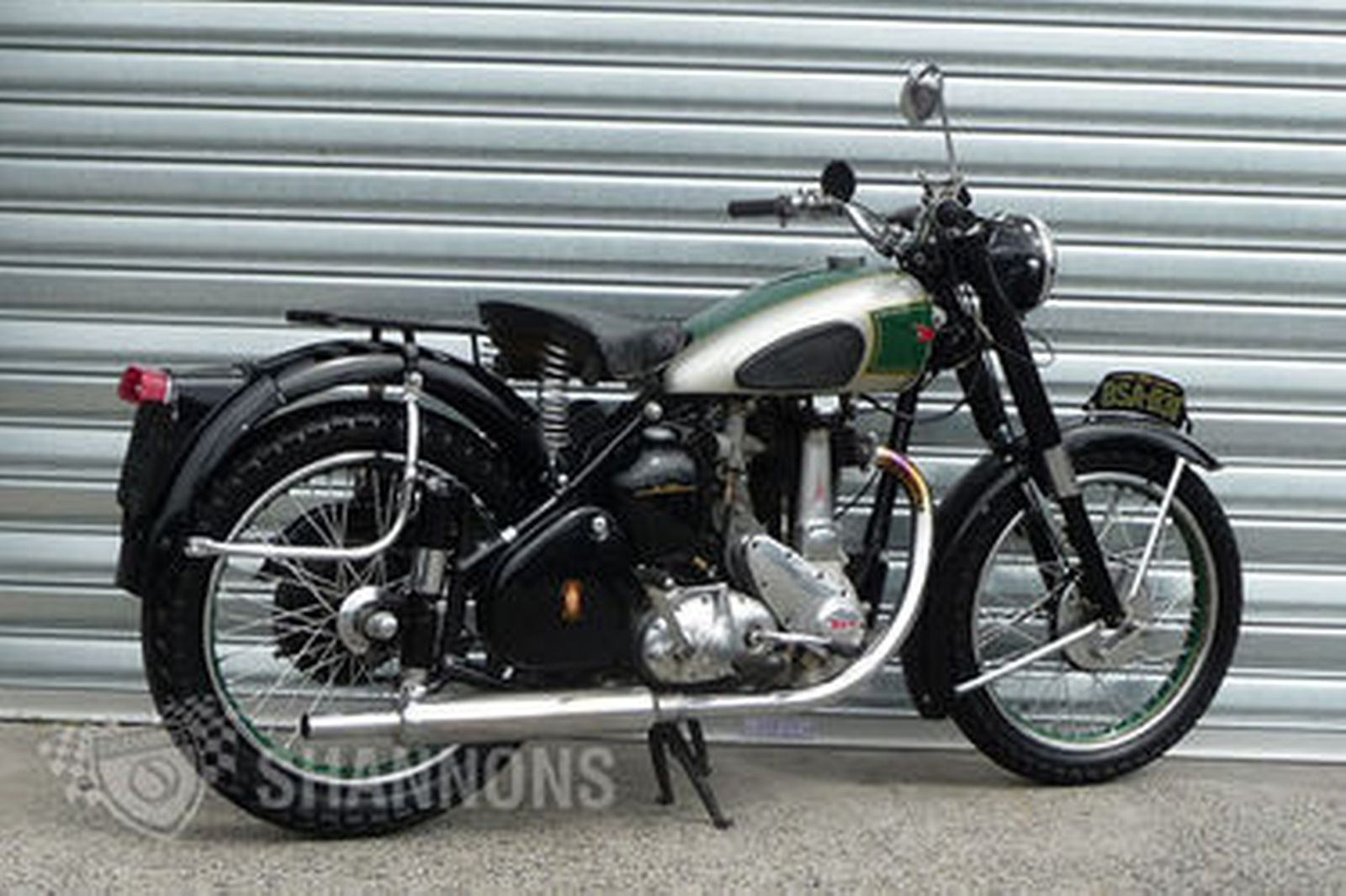 Sold  BSA B31 350cc Solo Motorcycle Auctions  Lot 8