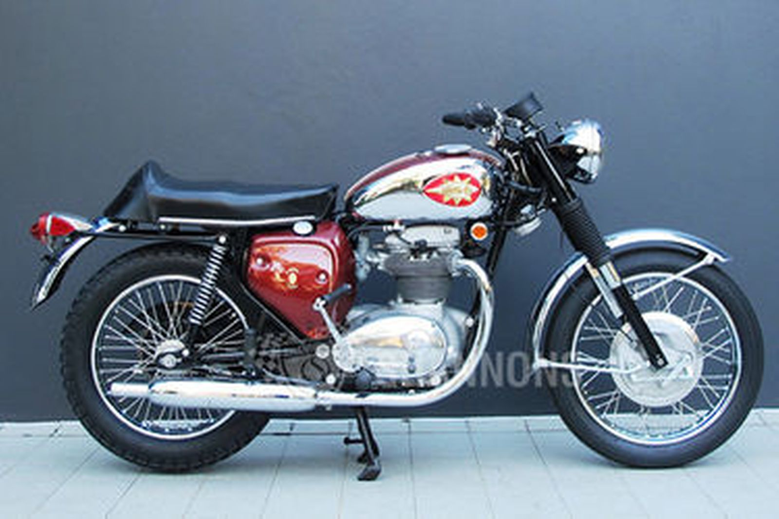 Sold Bsa A65 Thunderbolt 650cc Motorcycle Auctions Lot