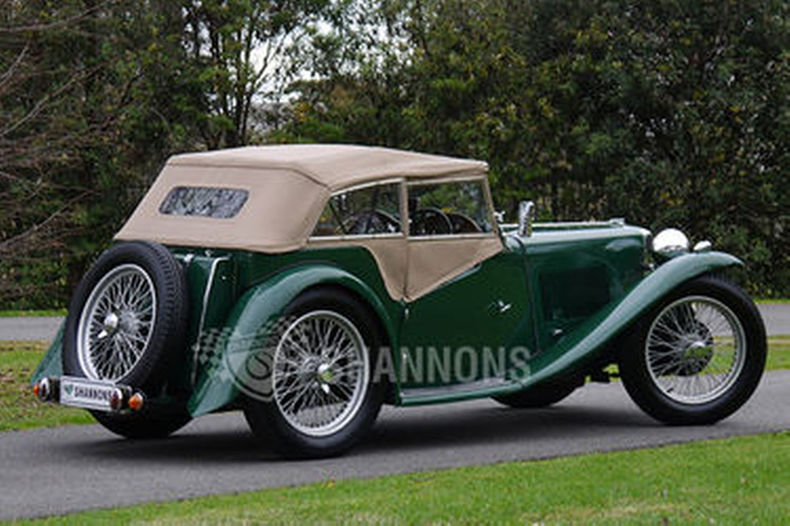 Mg Ta Roadster Auctions Lot 26 Shannons
