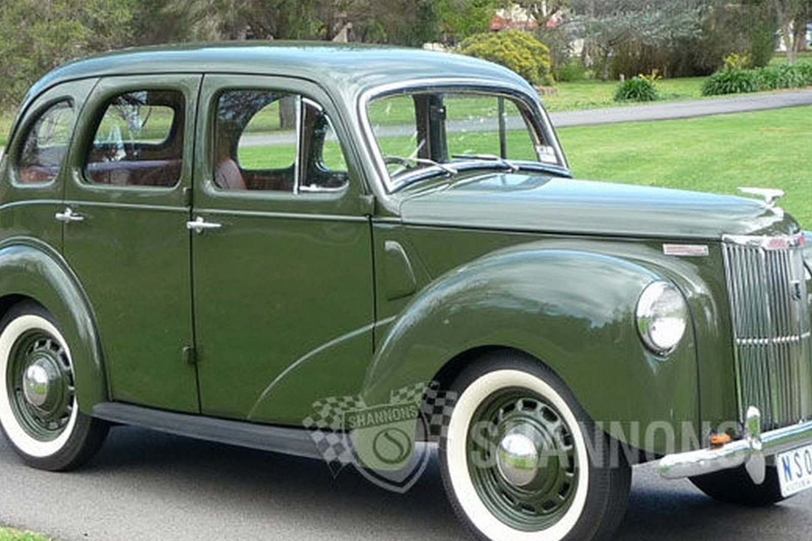 Ford prefect 10hp saloon