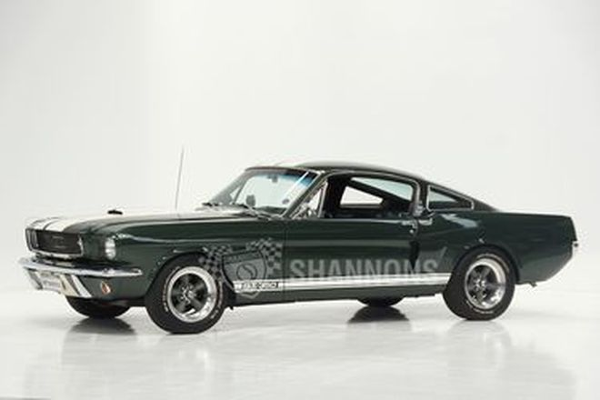 Shelby Mustang GT350 Fastback (LHD) - From the 'Ian Cummins Collection'