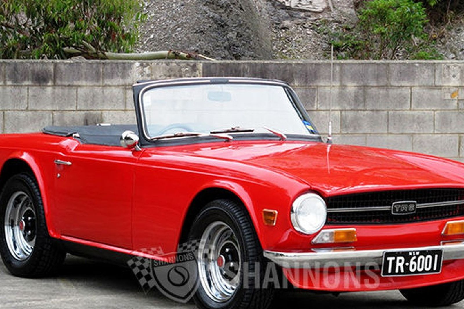 Triumph Tr6 Roadster Auctions Lot 12 Shannons