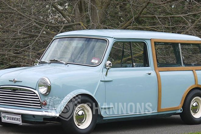 Morris Mini Traveller Van