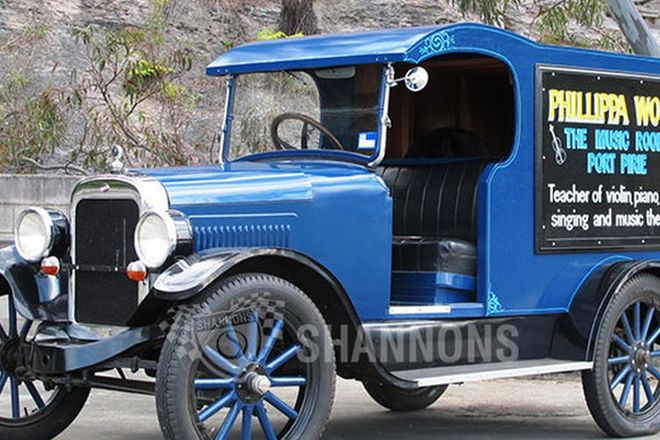 Willys Overland Delivery Van