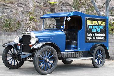 Willys Overland Delivery Van