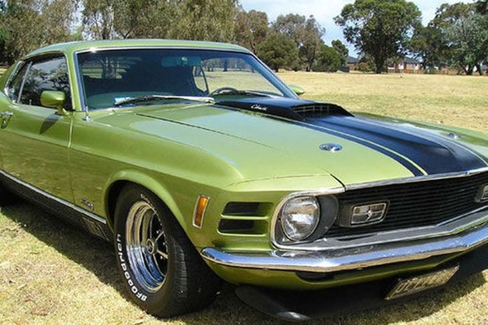 Ford mustang mach 1 428 cobra jet fastback lhd