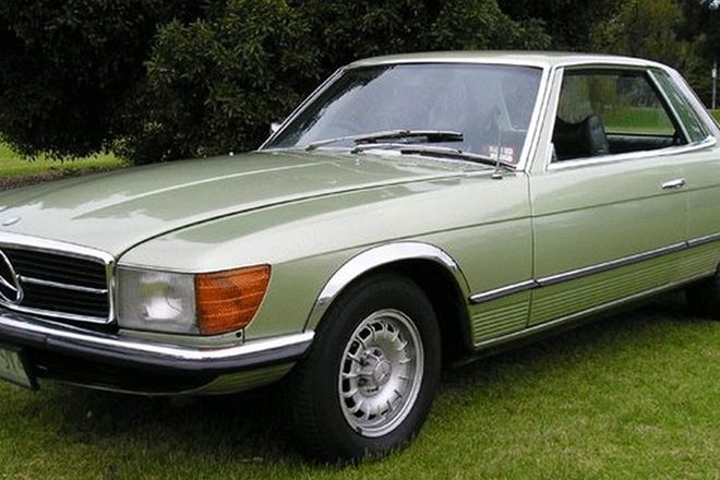 Mercedes-Benz 350SLC Coupe