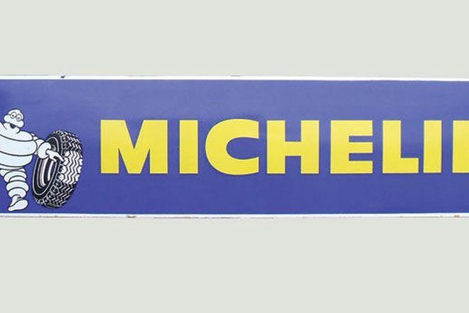 Enamel Sign - Michelin (195cm x 46cm)