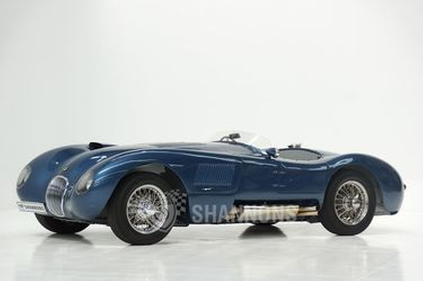 Jaguar C-Type 1953 Style (Recreation) - From the 'Ian Cummins Collection'