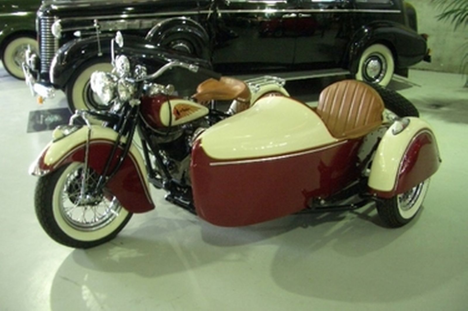 Indian Chief 1200cc with Indian Sidecar