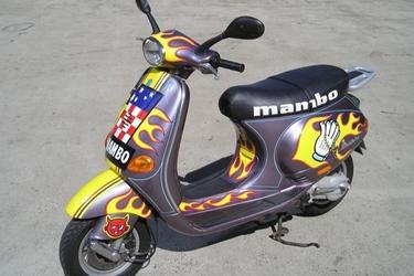 Vespa ET4 125cc Mambo Scooter