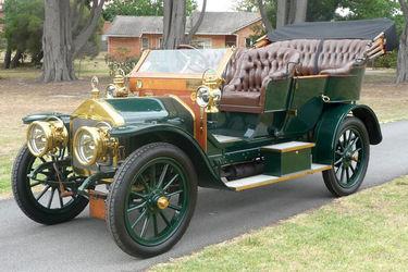 Wolseley Siddeley 14HP  'Roi De Belges' Tourer