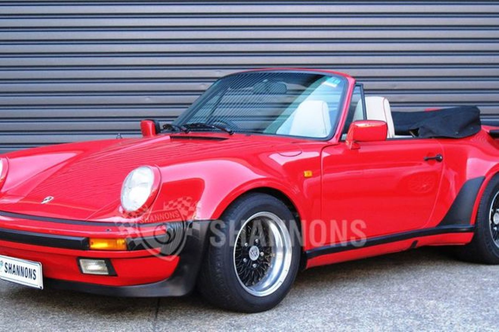 sold porsche 911 carrera 3 2 convertible auctions lot 18 shannons. Black Bedroom Furniture Sets. Home Design Ideas