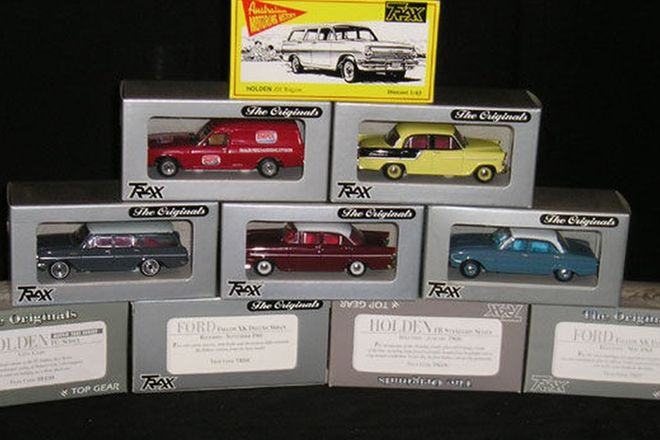 Model Cars x 10 - Trax Models (1:43 Scale)