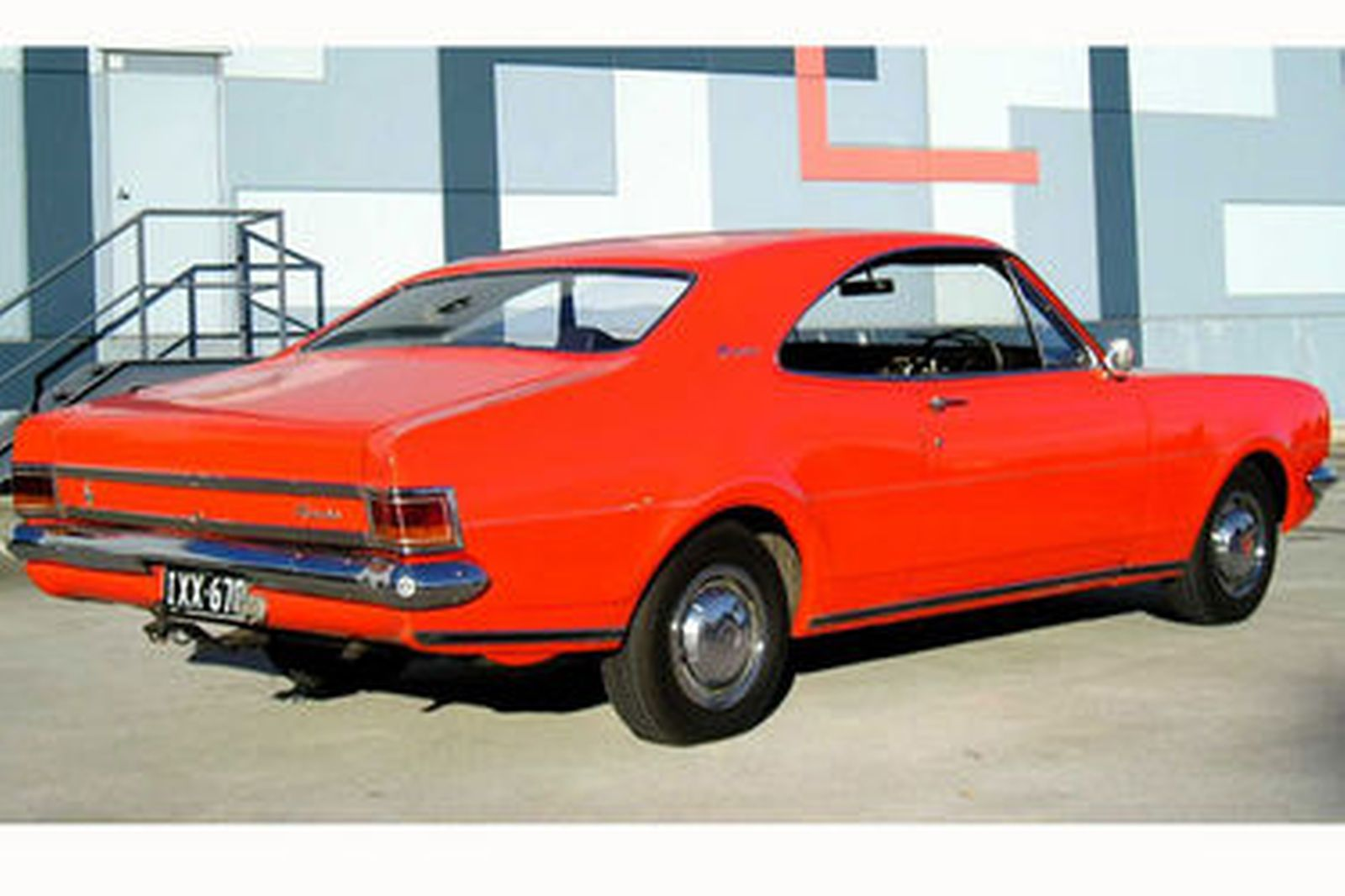 sold  holden hg monaro coupe auctions - lot 41