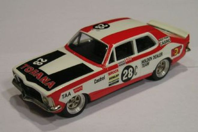 Model Cars - 3 x Brock Toranas by Classic Kits (1:43 Scale)