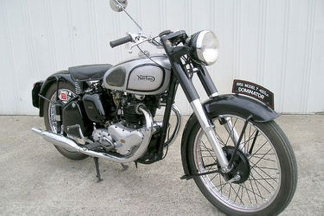 Norton Model 7 Dominator Motorcycle