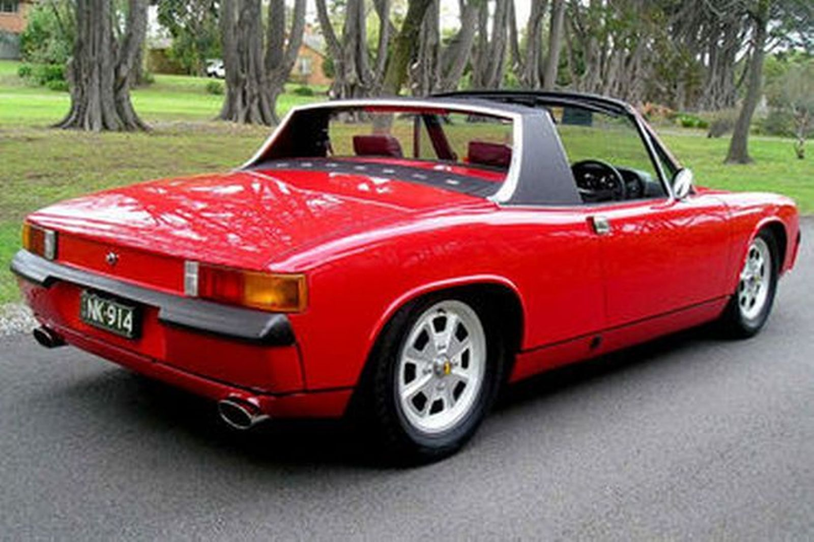 Porsche 914 (6 Cyl.) 'Targa' Coupe (RHD)