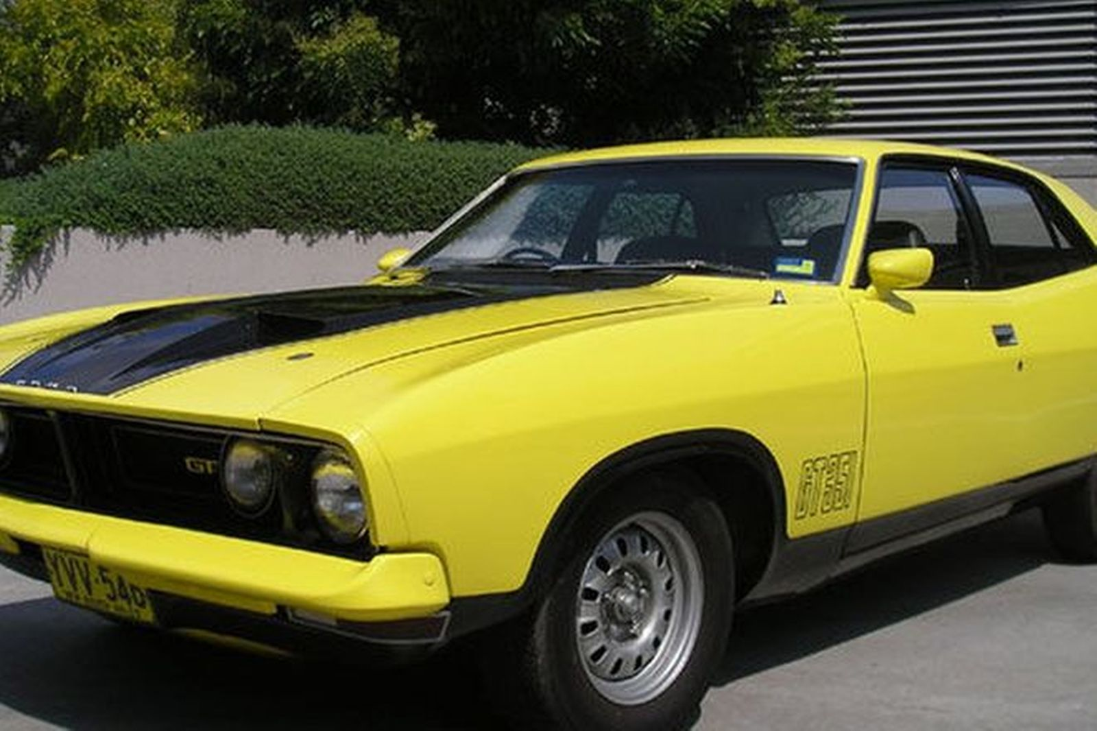 sold ford xb falcon gt sedan auctions lot 16 shannons. Black Bedroom Furniture Sets. Home Design Ideas