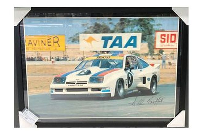 Framed Picture - Allan Moffatt #2 Chevy Monza