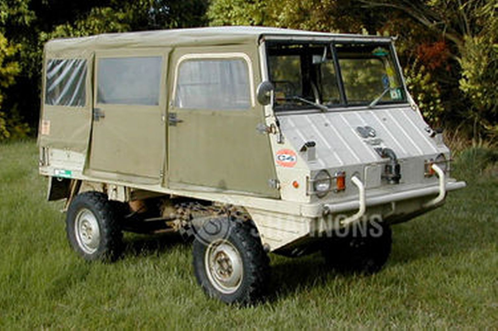 Sold Steyr Puch Haflinger 700 A P 4 Wheel Drive Auctions