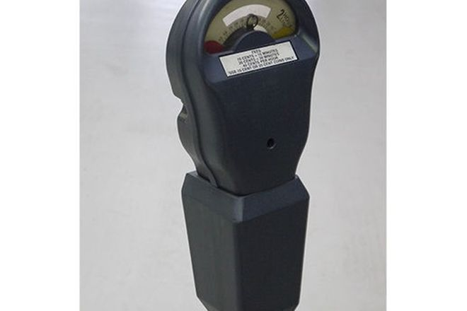 Parking Meter complete with stand (135cm tall)