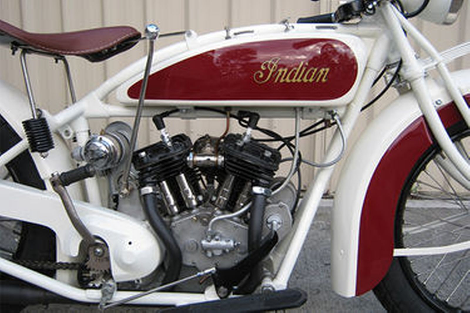 Vintage Motorbike Indian Scout-Racer From 1926 Editorial Photo ...