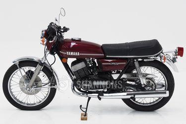 Yamaha RD350 Solo Motorcycle